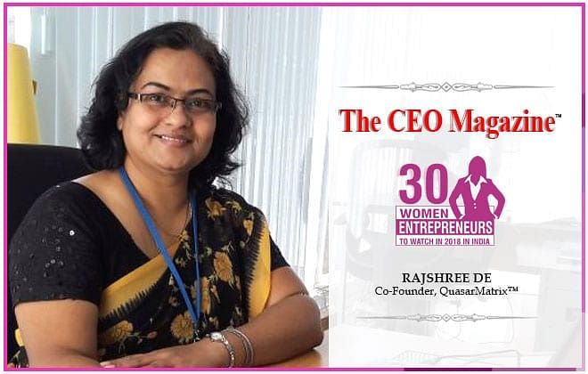 Rajshree De: A protagonist who dived into challenges and co-founded two successful technology start-ups