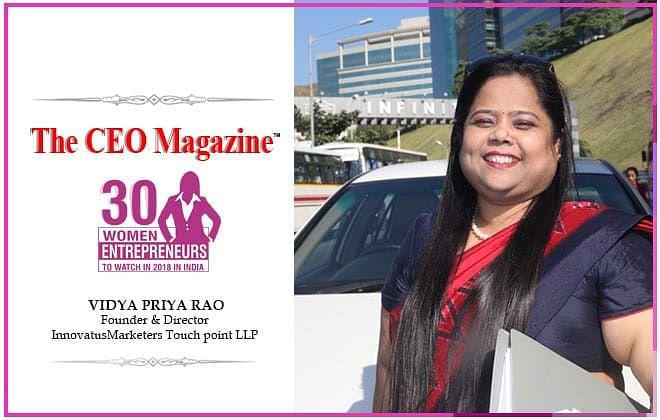 Vidya Priya Rao: the entrepreneur and the educator sermonizing design thinking and building a design-led innovation culture