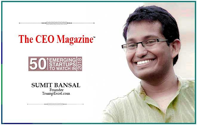 An endeavor of Microsoft's MVP – Sumit Bansal,  TrumpExcel.com empowers people with the key to great career opportunities