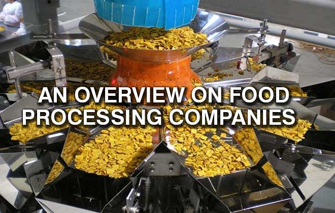 An overview on food processing companies