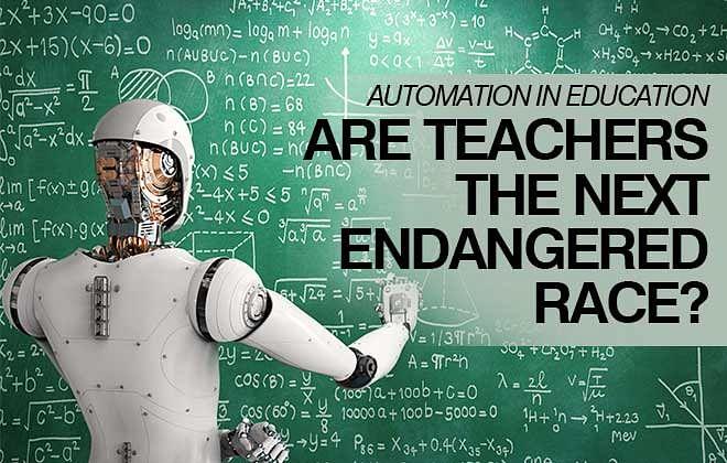 Are teachers the next endangered race?