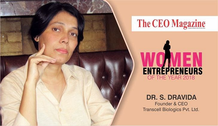 S Dravida, a bio entrepreneur creating the next benchmark in the stem cell industry with her venture, Transcell