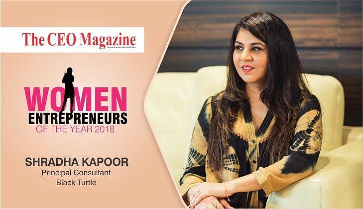 A fine example of dynamic leadership: Black Turtle's Shradha Kapoor