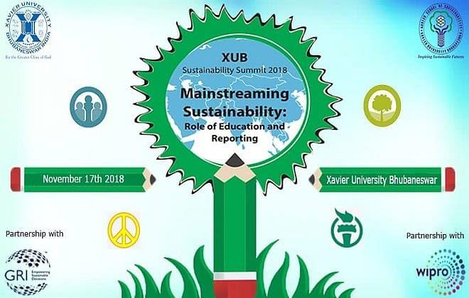 Xavier School of Sustainability's Summit