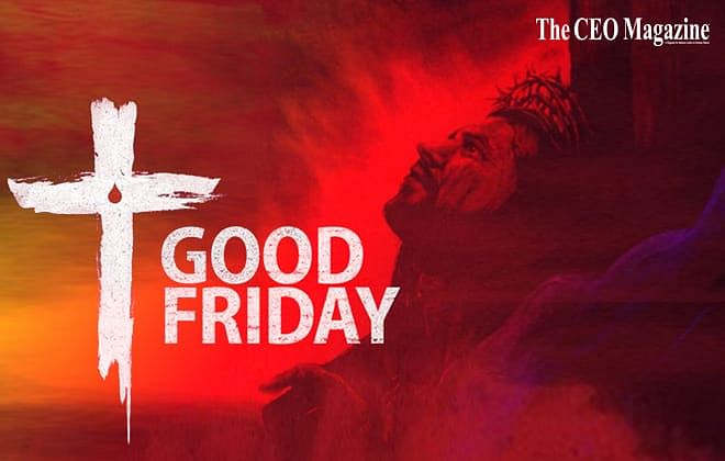 Good Friday: commemorating the saviour who died for us