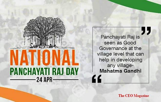 National Panchayati Raj Day: celebrating the victory for rural development