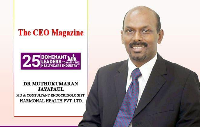 Dr Muthukumaran Jayapaul  Creating a Path Towards a Healthy Hormonal Balance with Arka Center for Hormonal Health Pvt Ltd