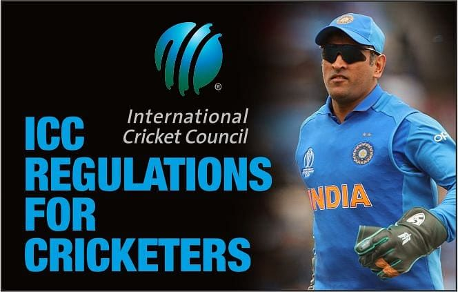 ICC REGULATIONS FOR CRICKTERS