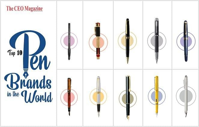 Top 10 Pen Brands in the World, Defining Style and Standard in the Global Market