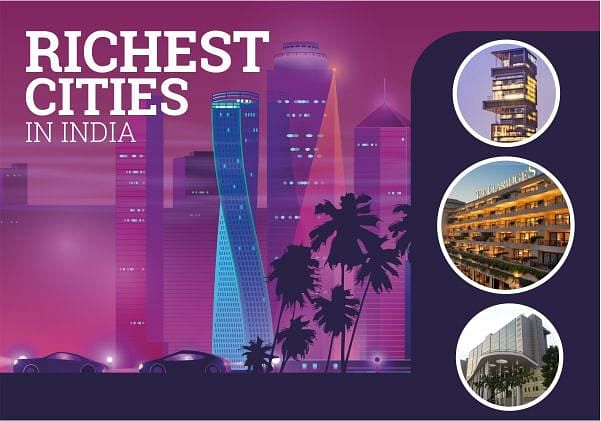 Richest cities in India according to GDP