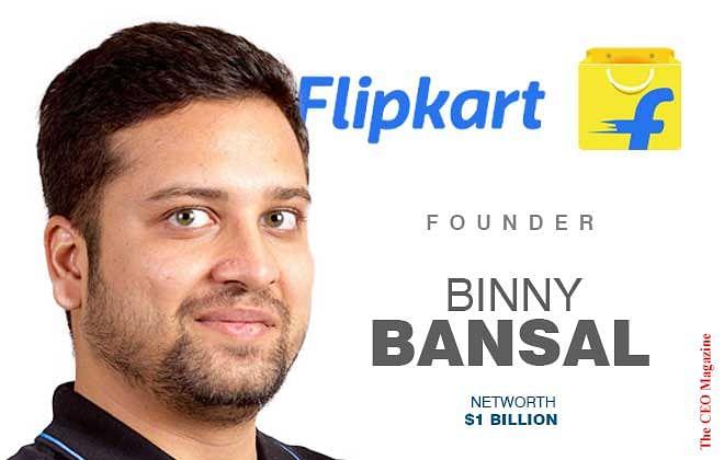 Binny Bansal: Co-Founding Flipkart