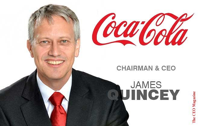 James Robert B. Quincey: Leading Coca Cola