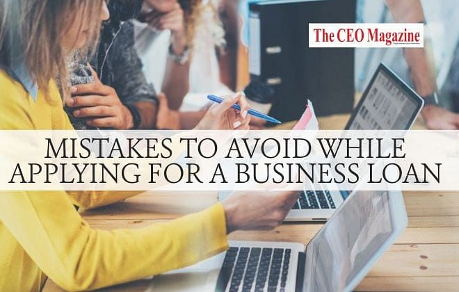 6 Mistakes to Avoid While Applying for a Business Loan
