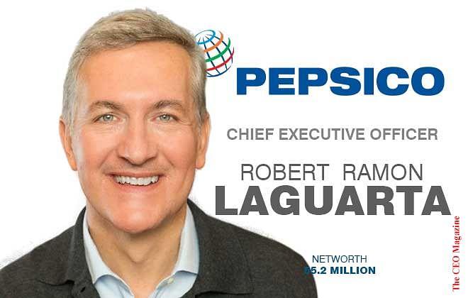 Ramon Laguarta, Director of Pepsico's Growth