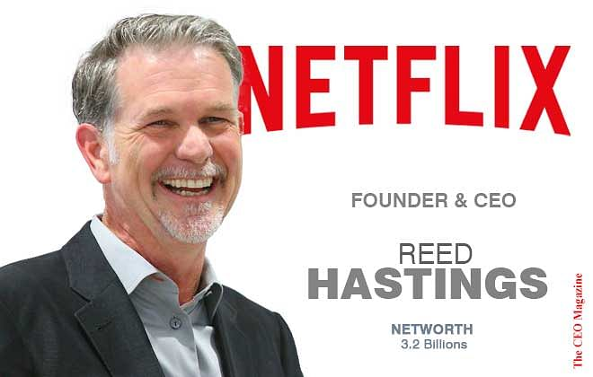 Reed Hasting – The Man Behind Netflix
