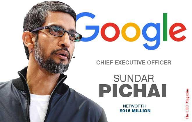 Sundar Pichai – Brains Behind Google Products