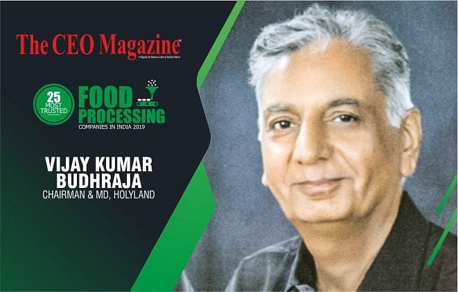 HOLYLAND, INDIA'S LARGEST AND FASTEST GROWING CANNED AND PROCESSED FOOD COMPANY