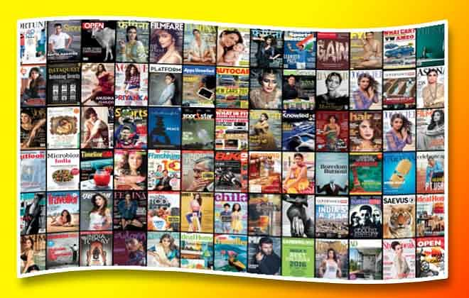 List of Types of Magazines Available in India