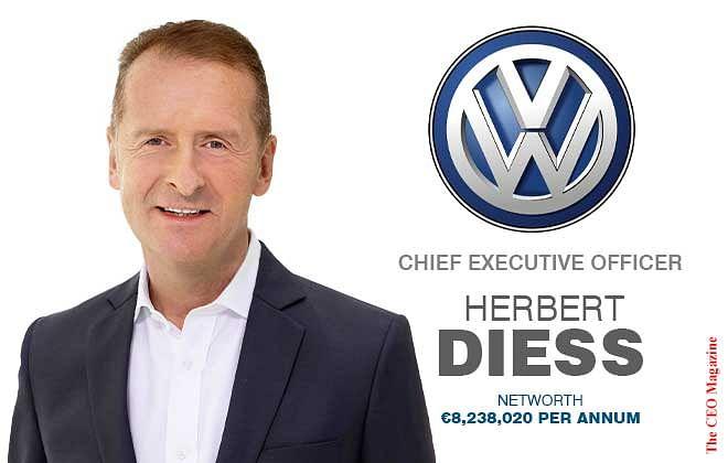 HERBERT DIESS, HERO OF THE VOLKSWAGEN FORCES