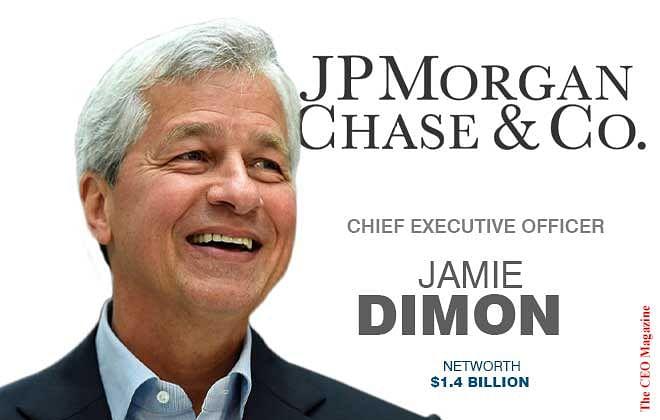 Jamie Dimon – A Billionaire Banker
