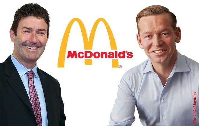 """McDonald's CEO fired over """"Consensual Relationship"""""""