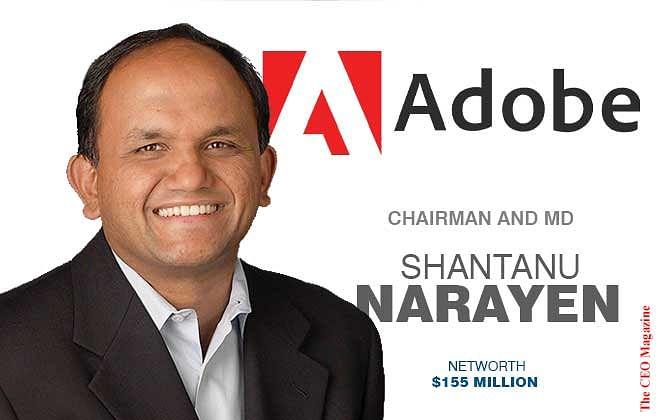 Shantanu Narayen- CEO Adobe
