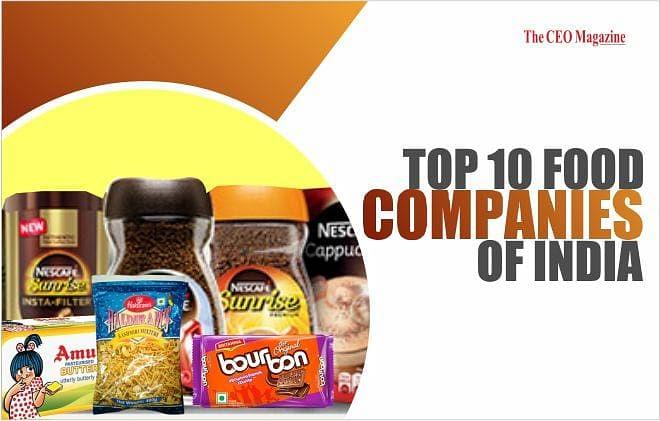 TOP 10 FOOD COMPANIES OF INDIA