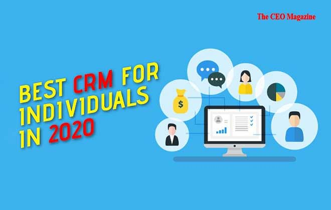 BEST PERSONAL CRMS FOR INDIVIDUALS IN 2020