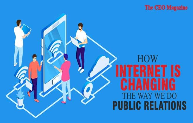 Changing the Ways of 'Public Relations', Technological Reiteration of Internet