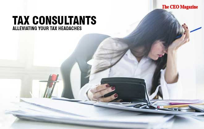 TAX CONSULTANTS, ALLEVIATING YOUR TAX HEADACHES