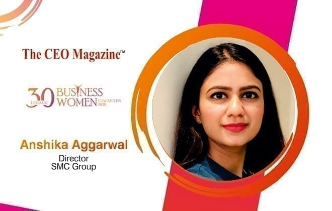 ANSHIKA AGGARWAL: THE YOUNG, PROMISING, DEDICATED WOMAN ENTREPRENEUR SPEARHEADING SMC GROUP TO NEW HEIGHTS