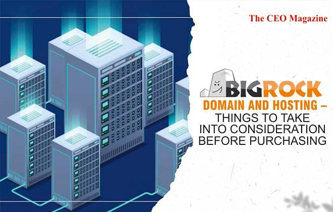 BigRock Domain and Hosting – Things to take into Consideration before Purchasing