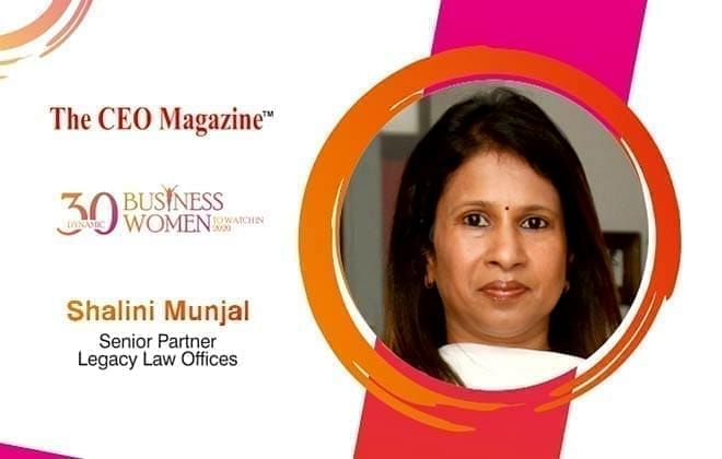 A COMBINATION OF MOTIVATION, IMPRESSION, AND EXPERTISE: MEET THE EXCELLENT LEGAL PRACTITIONER, SHALINI MUNJAL
