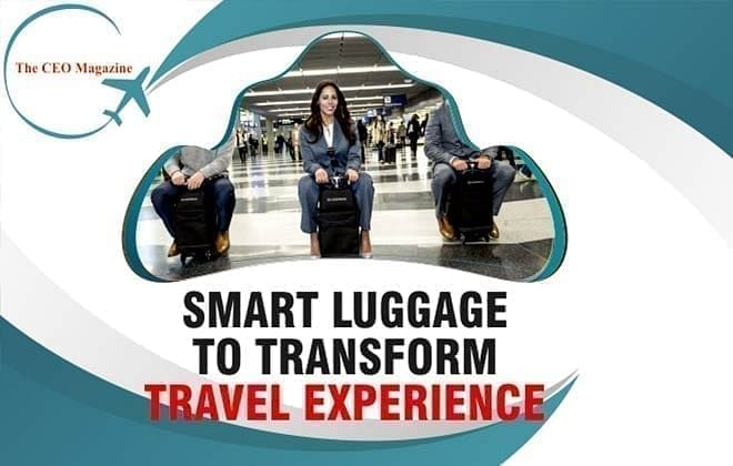 EXPERIENCE THE TRAVEL TECHNOLGY PACKED INTO THE SMART LUGGAGE