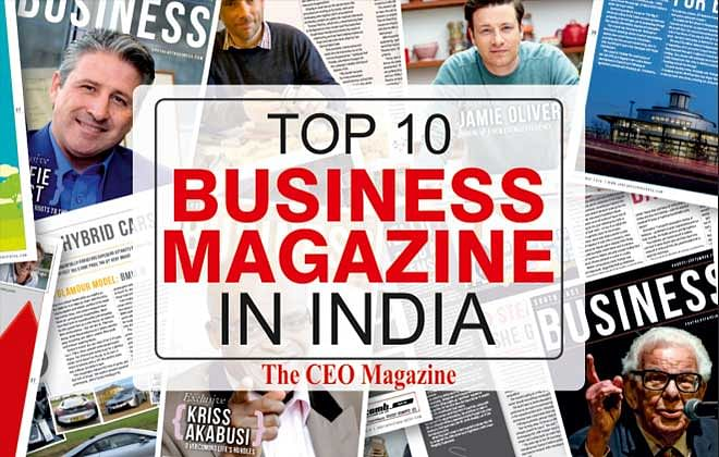 Top 10 Business Magazines in India