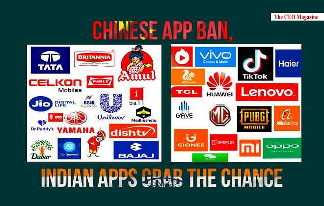 CHINESE APPS BAN, INDIAN STARTUPS RISE