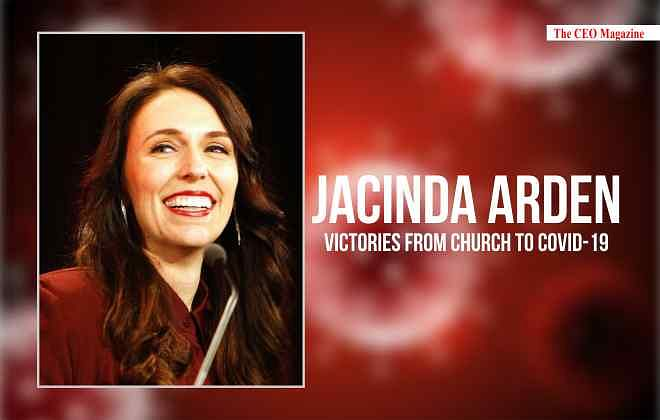 JACINDA ARDEN VICTORIES FROM CHURCH TO COVID-19