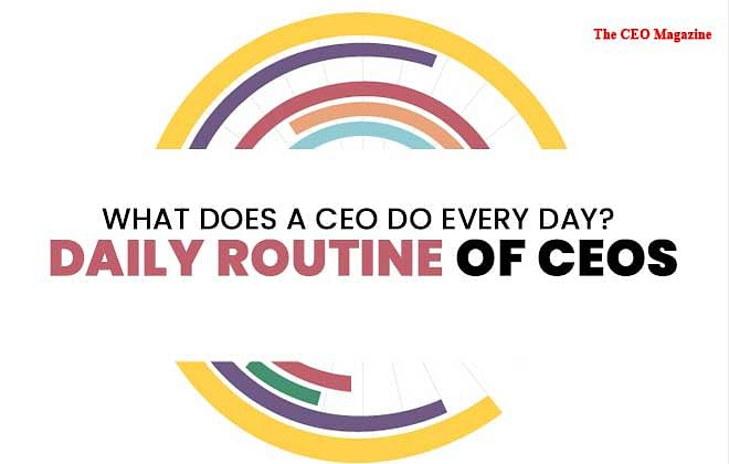 What does a CEO Do Every Day? Daily Routine of CEOs