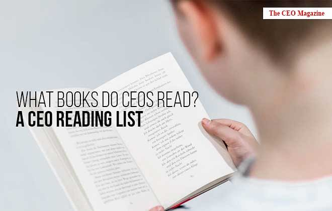What Books do CEOs Read? A CEO Reading List