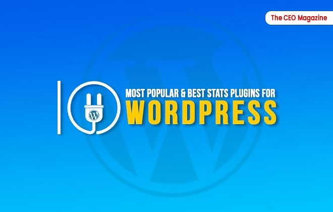 10 Most Popular & Best Stats Plugins for WordPress