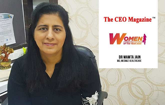 Dr Mamta Jain, A Breast Cancer Survivor, Mother,& An Outcast Visionary Entrepreneur Heading Medwiz Healthcare in Pursuit Of Excellence