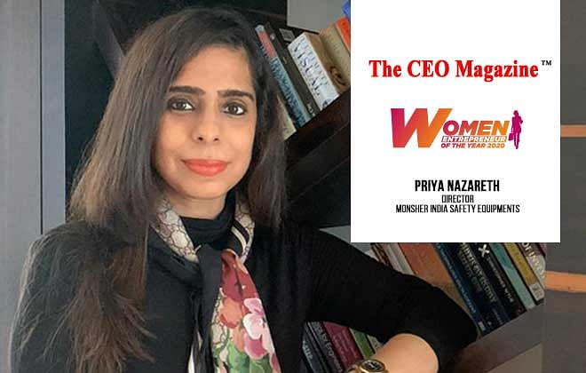 Priya Nazareth, Directing Monsher India Safety Equipements Pvt. Ltd. On its Pursuit to Deliver Four Decades of Unceasing Perfection