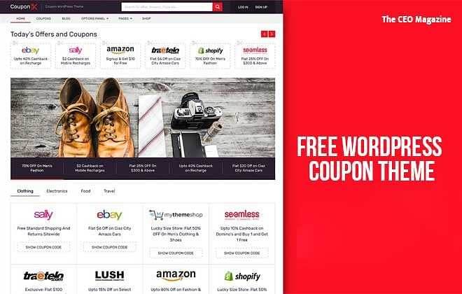 Where can I Download the Free WordPress Coupon Theme?