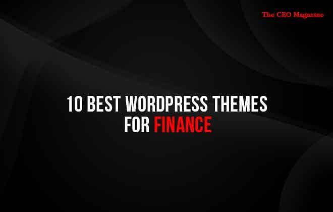 10 Best WordPress Themes for Finance