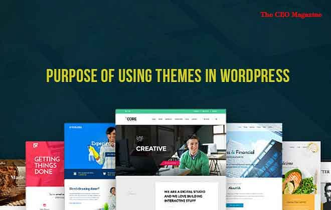 What is the Purpose of Using Themes in WordPress?