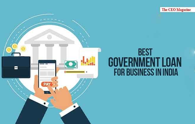 Best Government Loan for Business in India