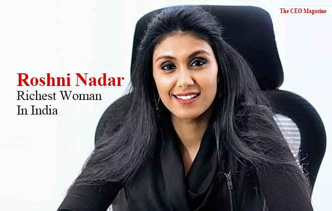 Roshni Nadar, Richest Woman In India