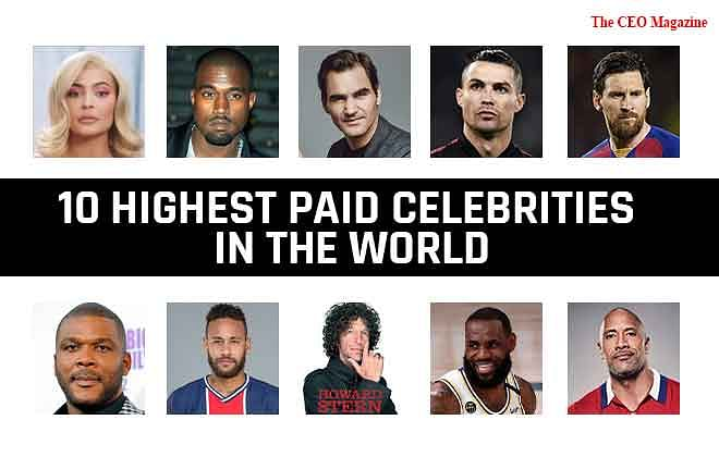 10 Highest Paid Celebrities in the World