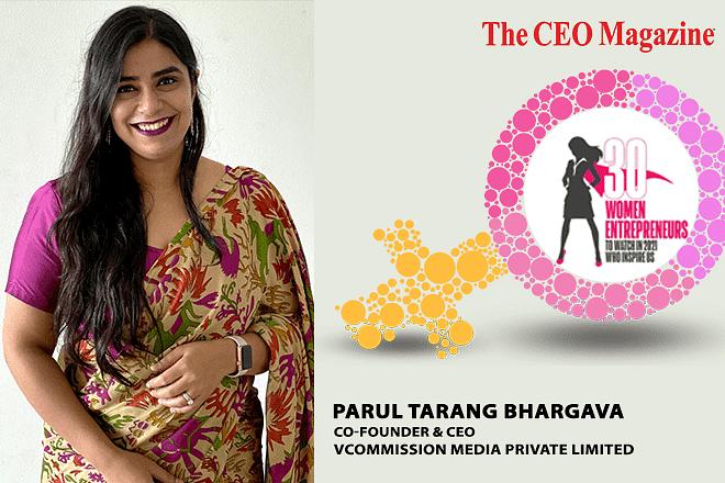 Parul Tarang Bhargava, Affiliate Marketing Wizard Leading India's Leading Global Affiliate Network vCommission