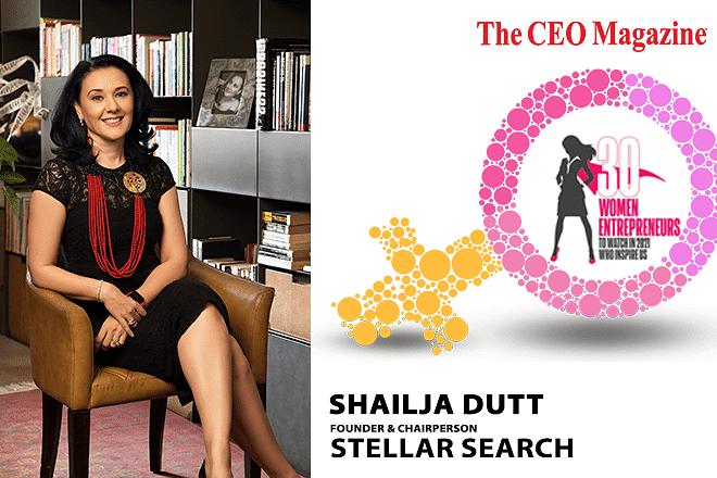 Shailja Dutt: Founder and Chairperson, Stellar Search